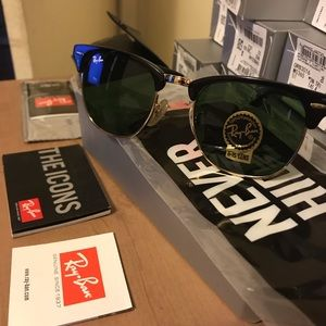 Brand New Ray-Ban Sunglasses - Clubmaster
